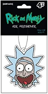 Rick and Morty AIR FRESHENER - Rick Head, Officially Licensed Original Artwork