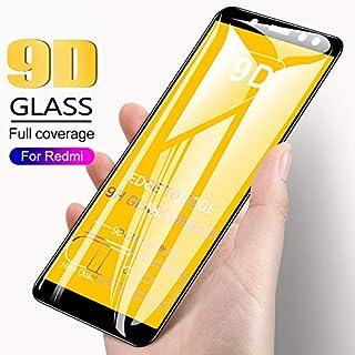 GHQQ 2pcs 9D Full Cover Tempered Glass For Xiaomi Redmi 5Plus 4X Redmi 6 Pro 6A Screen Protector For Redmi Note 5 Pro 5A P...