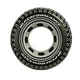 INTEX 59252EP - Bouée gonflable en Forme de Pneu de voiture - Daimètre 91 cm - Noire