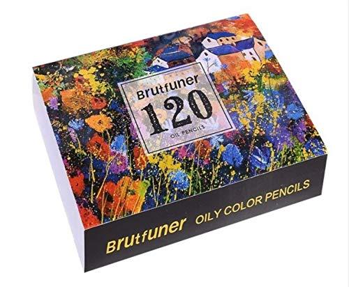 LWLJCFFF 120/160 Farben Holz Öl Buntstifte Set Künstler Malerei Für Zeichnung Skizze Schule Geschenke Kunst Supplie, 120 Farben, Russische Föderation