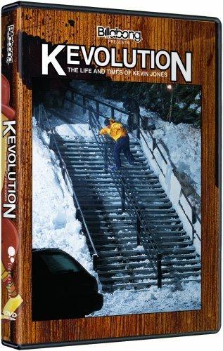 Kevin Jones Kevolution Snowboard DVD by Ally Distribution