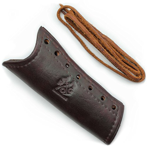 Review Outdoor Gear Leather Axe Handle Guard (Gransfors Bruk American Felling Axe, Brown)
