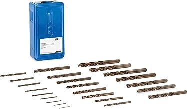 MSW ACC-MDC-01 metaalboor spiraalboor kobaltboor 25 stuks HSS-staal HRC63 1-13 mm