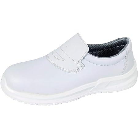 Blackrock SRC04 Calzado de Protección Unisexo, Color Blanco, Talla 42 EU Regular (8 UK)