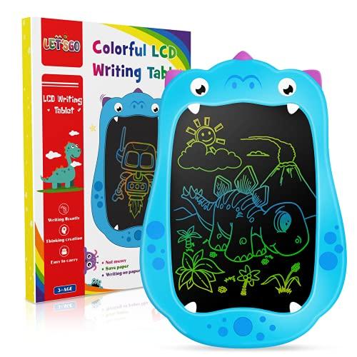 Let'S Go! Tavoletta Grafica Bambini,Tavoletta Grafica LCD Tablet Magico XL Giocattoli Bambino 2 3 4 5 6-10 Anni Giochi Bambino 2-10 Anni Maschio Tablet Magico per Bambini Luminoso Puzzle