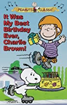 It Was My Best Birthday Ever, Charlie Brown! Peanuts Classic  VHS