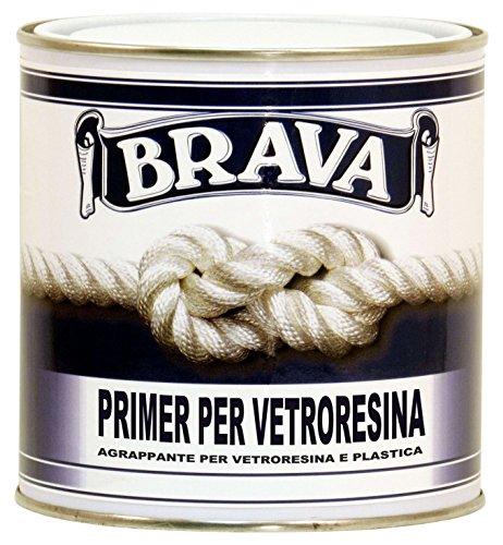 Brava PV7 Primer per Vetroresina e Plastica, Azzurro, 750 ml
