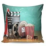 Winter Rangers Fundas de almohada decorativas, película de palomitas de maíz de cine, funda de almohada ultra suave,...