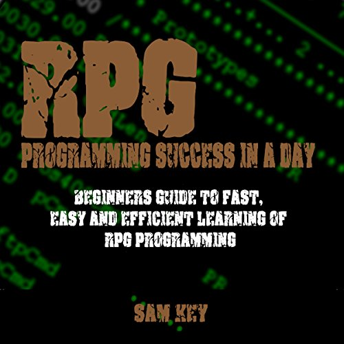 RPG Programming Success in a Day audiobook cover art