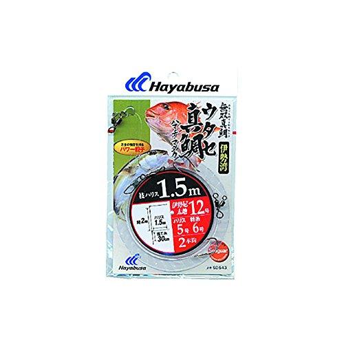 ハヤブサ(HAYABUSA) SD543伊勢湾ウタセ真鯛鈎ハマチ2本 11-4