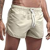 Romantic Maillot de Bain - Short Boxer Homme Couture Polyester Short Pantalon Court de Sport Plage Mer Loisir Plusieurs Couleurs Disponibles Séchage Rapide