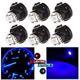 Heater Climate Control,cciyu 6 Pack T4/T4.2 Neo Wedge LED Bulb A/C Lights (blue)