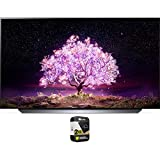 LG OLED55C1PUB 55 Inch 4K Smart OLED TV with AI ThinQ 2021 Model Bundle with Premium 2 Year Extended...