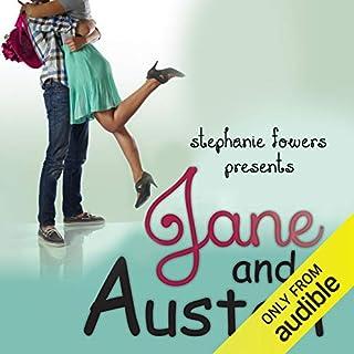 Jane and Austen audiobook cover art