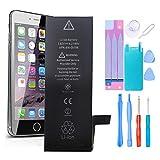 GLOBAL GOLDEN Batería para iPhone SE 1624mAh de Alta Capacidad Batería y con Kits de Herramientas de reparación, Cinta Adhesiva, Protector de Pantalla