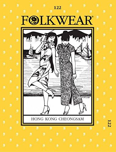 folkwear Mustern Damen & Herren Schnittmuster Hong Kong Cheongsam