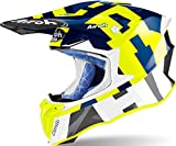 AIROH HELMET TWIST 2.0 FRAME BLUE GLOSS XL