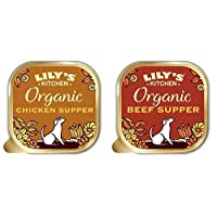 Pack contains: Organic Chicken Supper and Organic Beef Supper for adult dogs (4 months +) Organic Chicken Supper prepared with proper meat: 28 Percent chicken, 12 Percent pork and 10 Percent beef Organic Beef Supper prepared with: 36 Percent beef, 14...