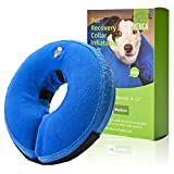Yeuca Dog & Cat Inflatable Collars & Cones, Soft Pet Recovery Collar for After Surgery, Dog Cone Substitute - Update 2021