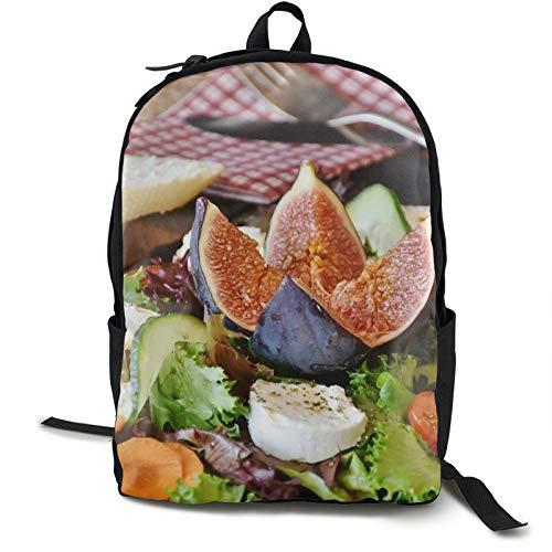 Sac à dos léger pliable ultraléger et pliable, pour salades, figues, fromage, chèvre, fromage, unisexe, durable, pratique pour les voyages et les sports de plein air