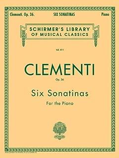 clementi 6 sonatinas op. 36