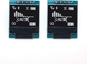 WINGONEER 2Pcs SSD1306 4P 0.66inch OLED Display Module 64x48 Screen IIC I2C for Arduino AVR STM32 LCD Module