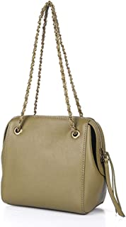 Women's Shoulder Bag, Chain Strap Crossbody Purse for Stadium/Concert Venues Approved,A,23 * 12 * 20CM