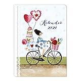 Taschenkalender 2020, Jahreskalender, Jahresplaner, Je Woche zwei Seiten, praktischer Terminkalender, 136 Seiten, 2 Seiten pro Woche, Klebebindung DIN A6 - Silke Leffler