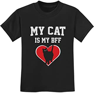 Tstars - My Cat is My BFF Gift for Cat Lovers Animal Lover Youth Kids T-Shirt