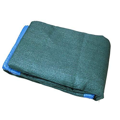 Voiles d'ombrage Feifei Sun Mesh Shade 70% Filet Anti-UV en Tissu Anti-UV avec Bande renforcée et œillet (Couleur : Green, Taille : 2×6m)