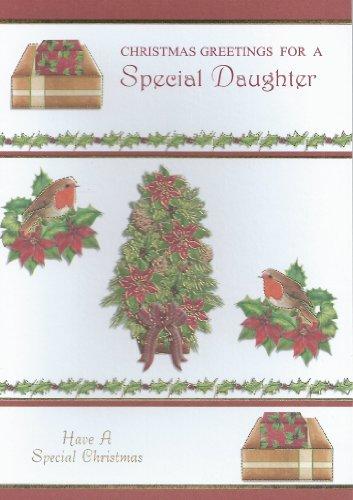 Auguri di Natale per una figlia speciale carta
