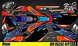 Kit Déco Moto / MX Calcomanías Kit Rieju Mrt pro - Fox