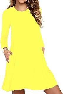 bright yellow dress