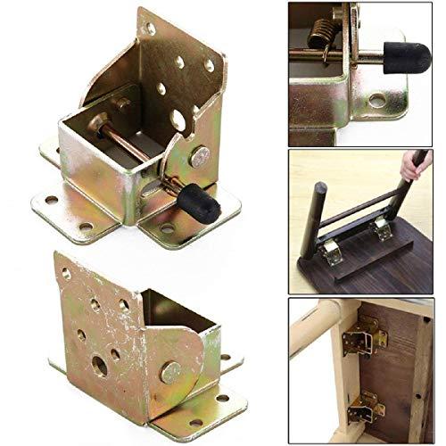 Groothandel 4 stks Opvouwbare Uitschuifbare Tafel en Stoel Been Ondersteuning Meubilair Hardware Accessoires voor Uitbreiding Tafel Bed Beenvoeten