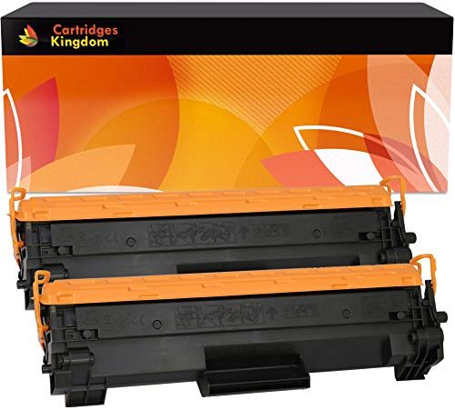 Cartridges Kingdom XL Kit 2 Toner Compatibili per HP CF244A 44A | HP LaserJet Pro M28 M28a M28w M15 M15a M15w | ad alta capacità 2.000 pagine
