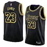 ZJJY Basketball Trikot Lebron James # 23 Männer NBA Basketball Jersey, Atmungsaktiv...