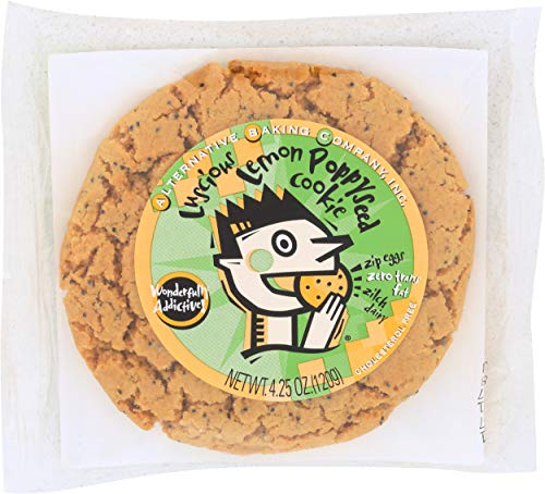Alternative Baking Company, Cookie Lemon Poppy Seed, 4.25 Ounce