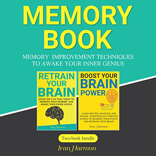 Memory Book: Memory Improvement Techniques to Awake Your Inner Genius audiobook cover art