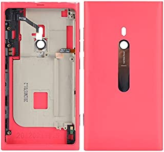 ZHANGTAI Sparts Parts Battery Back Cover with Buttons for Nokia Lumia 800(Black) Repair Flex Cable (Color : Pink)