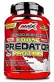 AMIX, Proteínas para Aumentar Masa Muscular con Sabor Chocolate, Predator en Formato Bote de 1 Kg, Ayuda al Crecimiento Muscular, Libre de Aspartamo, Ideal para Batidos de Proteínas
