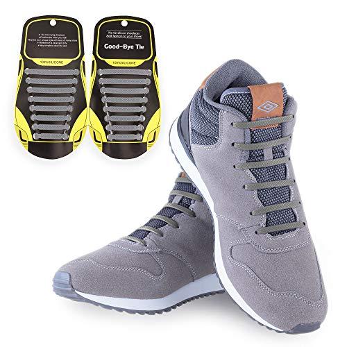 MAROL Elastische Silikon Schnürsenkel – Ohne Binden – Silikonschnürsenkel – Schnürsenkelersatz, Schleifenlose Schuhbänder – Gummischnürsenkel für alle Schuhe – Kinder & Erwachsene