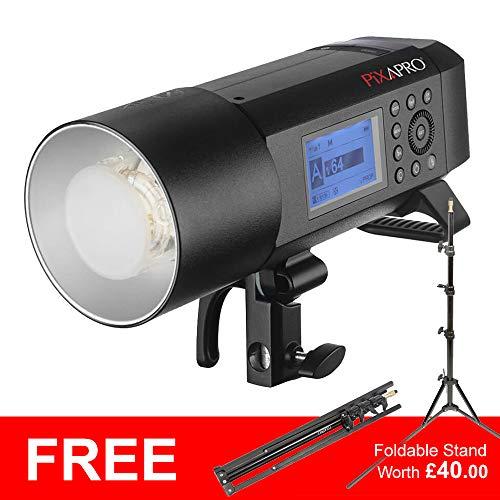 Pixapro All-in-1 CITI400 pro geïntegreerde studioflits/draagbare flitser (Ttl versie) verlichte licht Studio fotografie 2 jaar UK garantie Britse voorraad BTW geregistreerd
