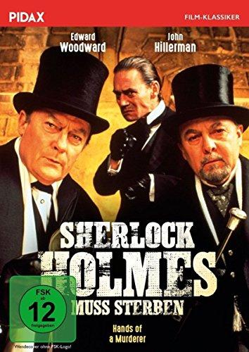 Sherlock Holmes muss sterben (Hands of a Murderer) / Spannende Sherlock-Holmes-Verfilmung mit mit Edward Woodward und John Hillerman (Pidax Film-Klassiker)