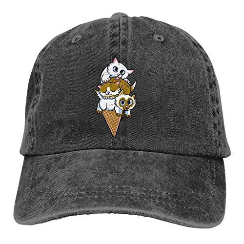 Gorra de béisbol unisex con fragancia de hoja de loto
