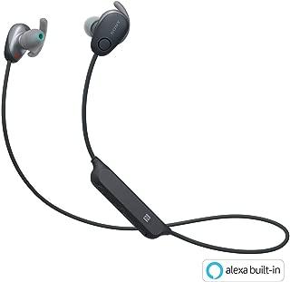 ソニー SONY ワイヤレスノイズキャンセリングイヤホン WI-SP600N BM : Bluetooth対応 NFC接続対応 防滴仕様 2018年モデル ブラック