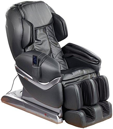 newgen medicals Massagestuhl Ganzkörper-Massagesessel GMS-150 mit Infrarot-Wärme, schwarz (Relaxsessel)
