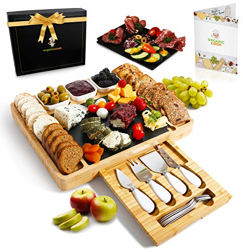 Our #7 Pick is the Organic Cook Charcuterie Board Set