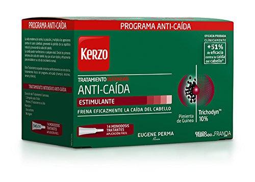 Kerzo Tratamiento Intensivo Anticaída Estimulante 14 X 5 Ml 1 Unidad