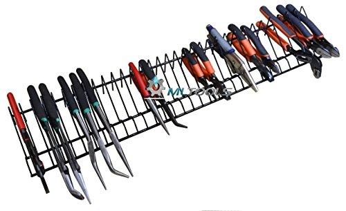 MLTOOLS - Organizador de alicates, cortador de alicates | Almacenamiento de alicates | 76,2 cm de largo con capacidad para 32 herramientas | P8241
