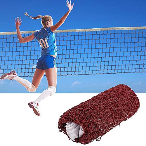 Latocos Badminton Netz Tragbares Federball Netz Professionelles Standard Volleyballtraining Geflochtenes Netz Für Indoor Outdoor Garten Sports (6.1m x 0.76m)